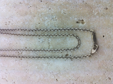 Sterling Silver Robe Chain