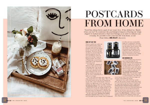 Vitaclean in House of Coco Magazine