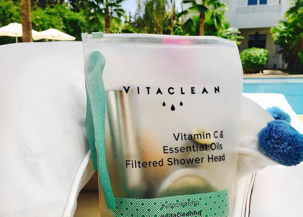 VITACLEAN HQ VITAMIN C AND ESSENTIAL OIL FILTER SHOWER HEAD IS A GREAT SOLUTION FOR LONDON'S HARD WATER AREAS