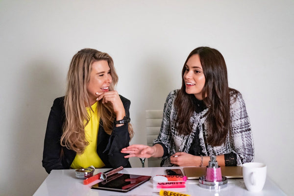 Thrive Global: Tips From the Top: Conversation With Kristina Velkova and Sara Douglas