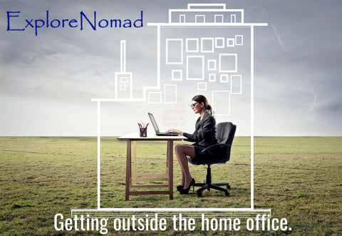 How to get out of the house while working from home