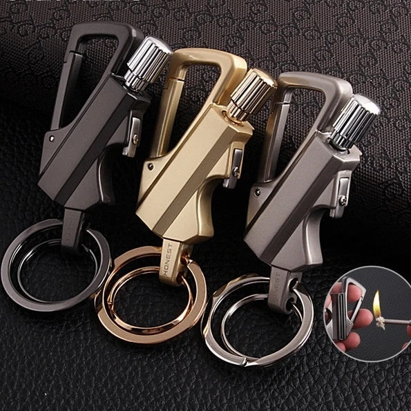 Multi-Tool - Waterproof Multi-Tool Keychain With Fire Starter