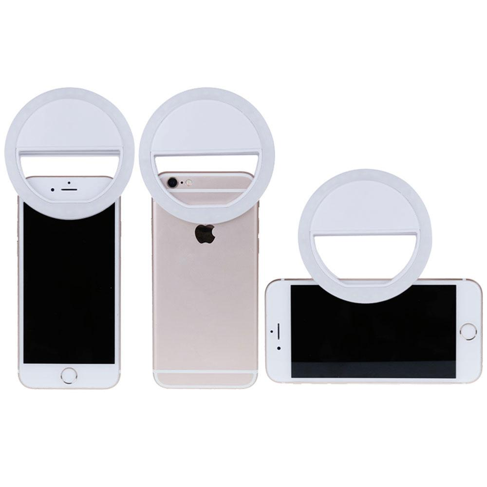Phone & Camera Accessories - Attachable LED Selfie Light Ring