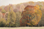 Tea Towel- Autumn Trees Design