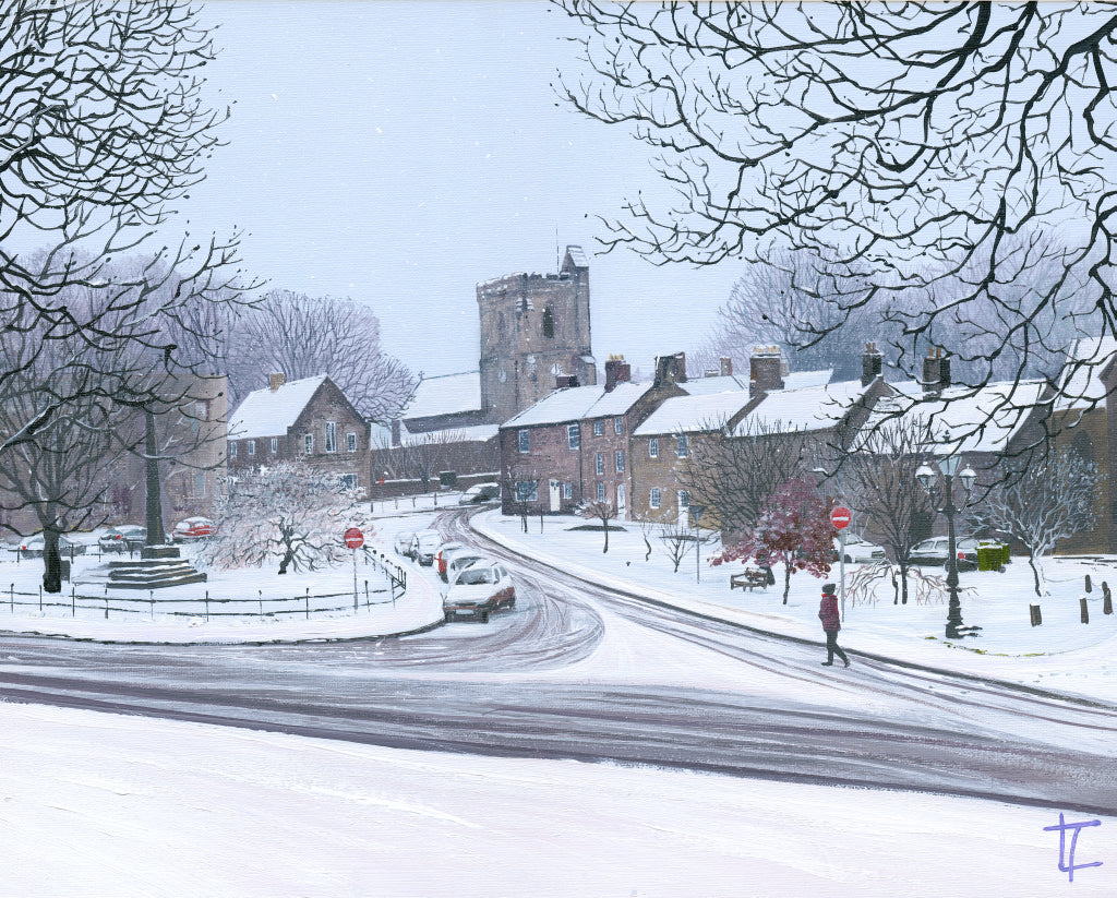 Rothbury Village Snow