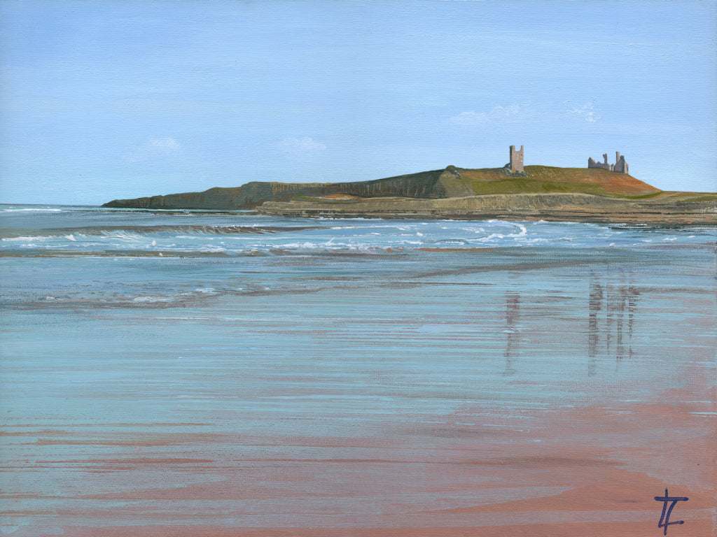 Dunstanburgh Castle Reflections