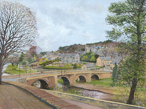Rothbury Bridge – Spring