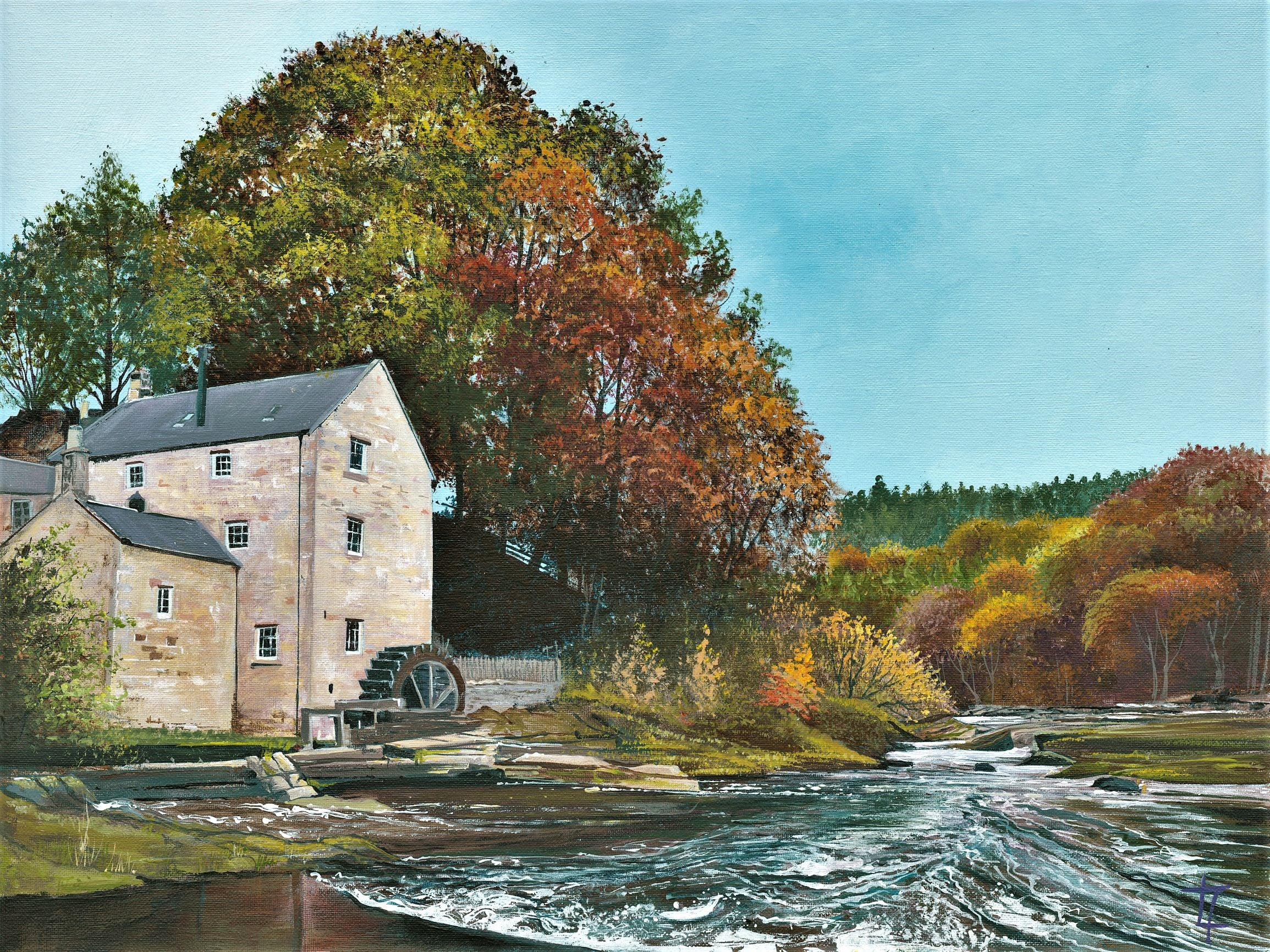 Thrum Mill – Rushing River