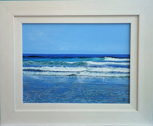 Beadnell Bay Waves - Original Painting