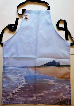 Tote Bag Bamburgh Beach, Rising Tide