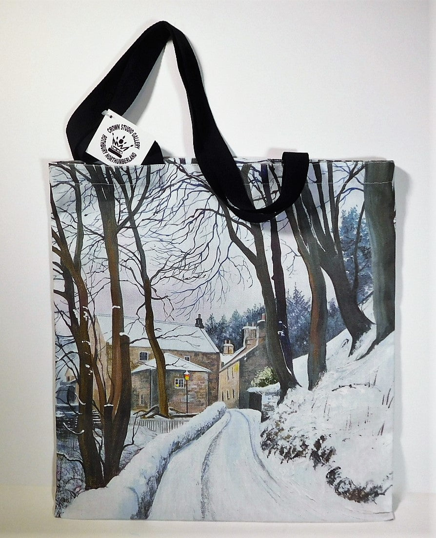 Tote Bag Thrum Mill Design