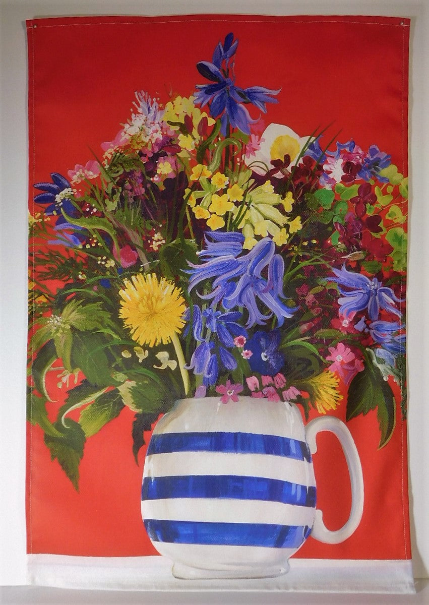 Tea Towel-Spring Flowers