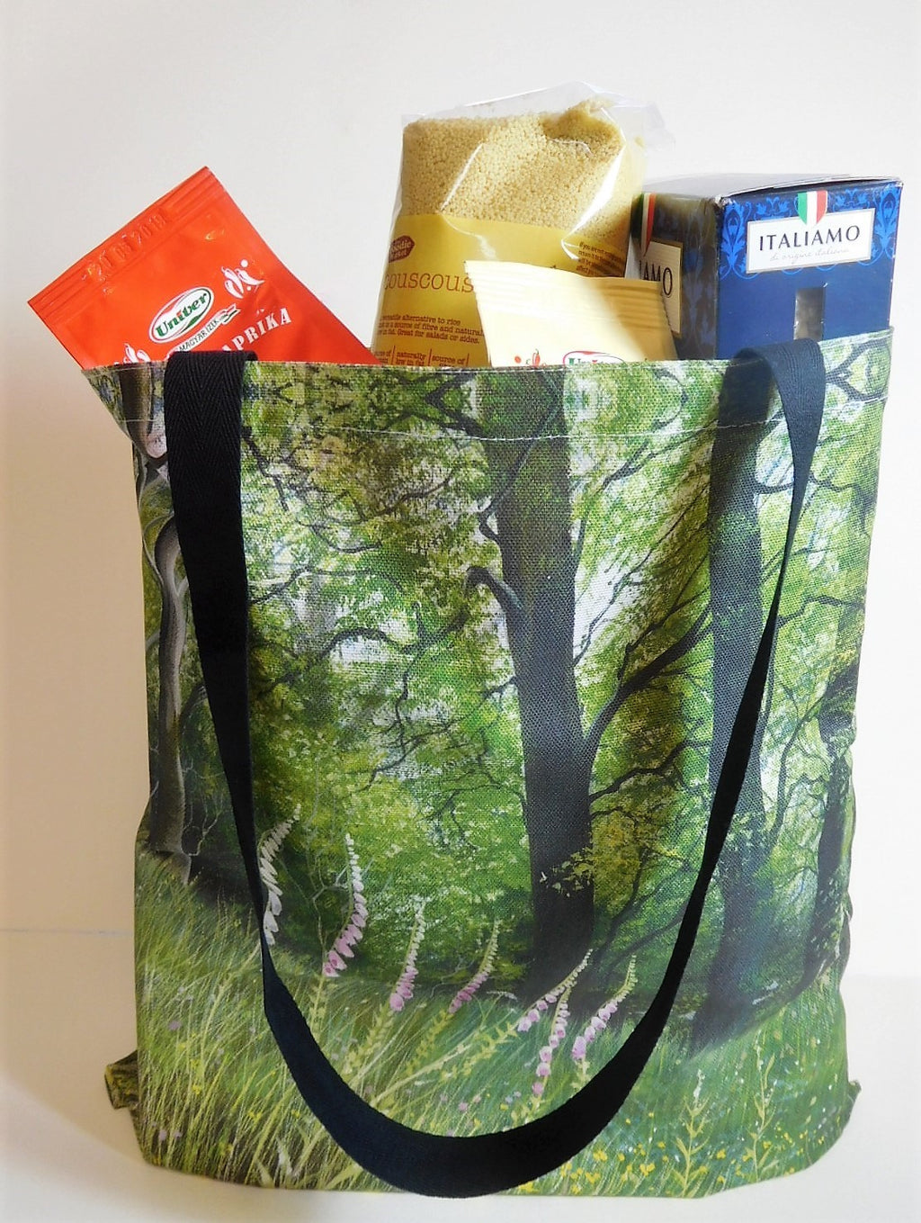 Tote Bag-  Foxglove Woods Design