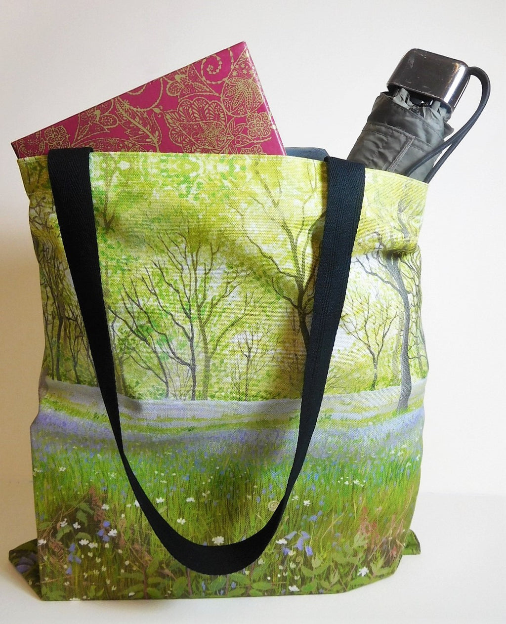 Tote Bag-  Bluebell Woods Design