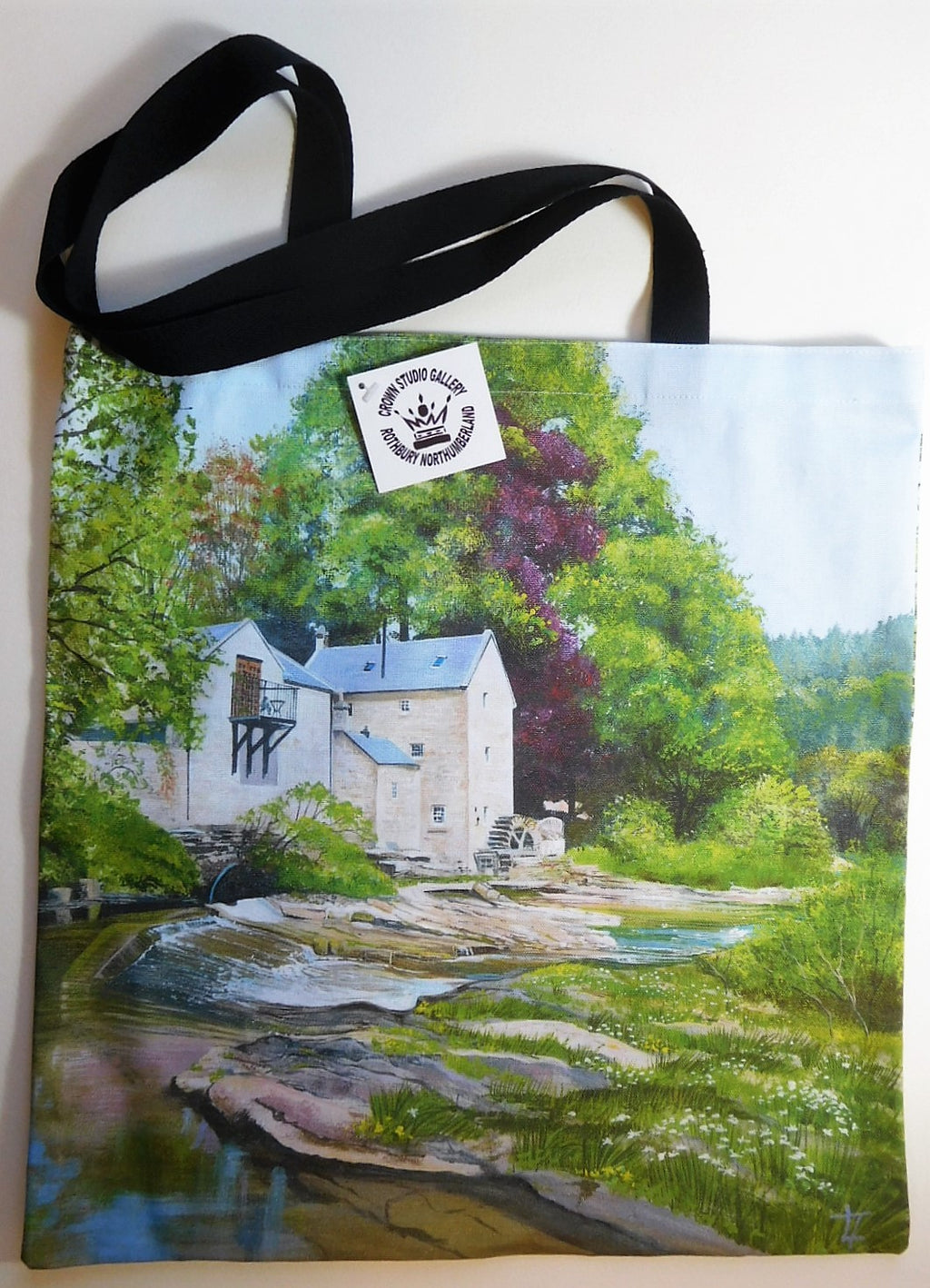 Tote Bag Spring at Thrum Mill Design