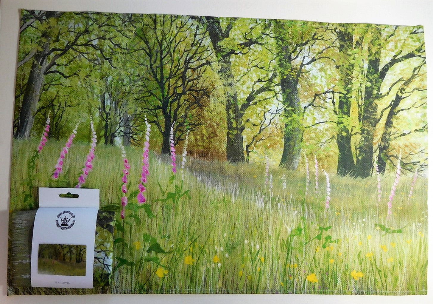 Tea Towel-Foxglove Woods
