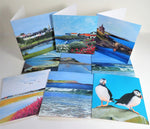 THE COASTAL COLLECTION- SET OF 6 CARDS