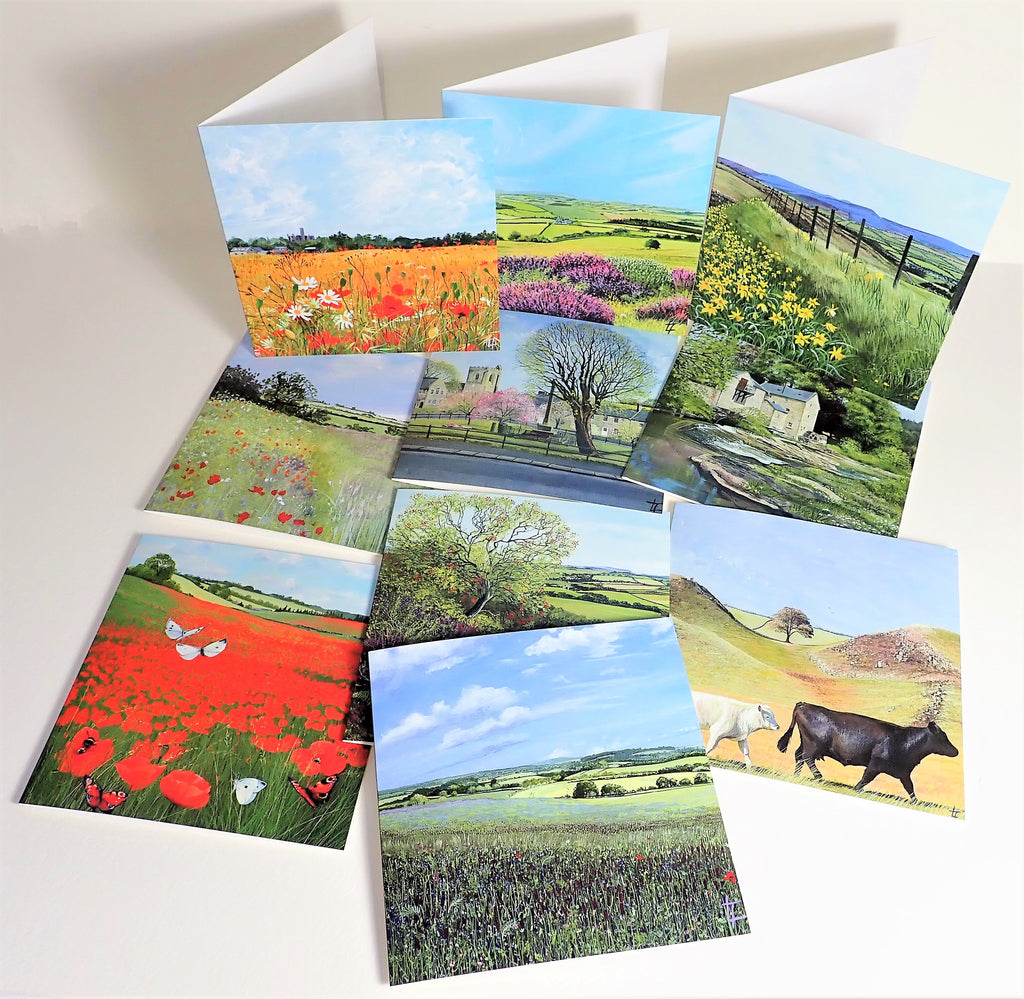 THE COUNTRYSIDE COLLECTION- SET OF 6 CARDS