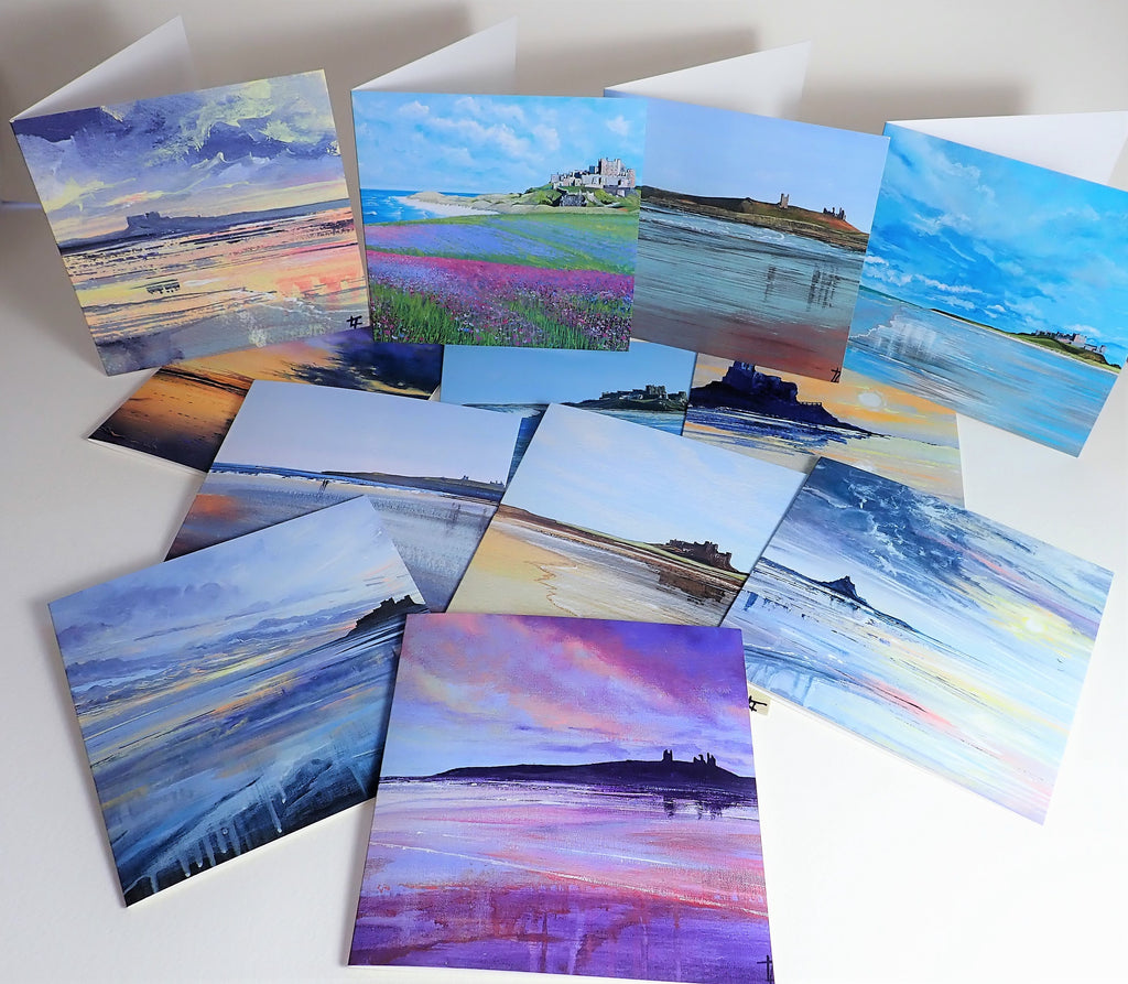THE CASTLE COLLECTION- SET OF 6 CARDS