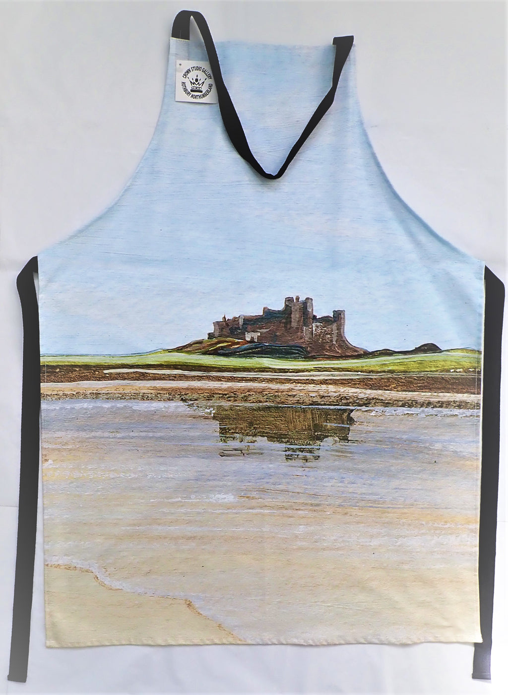Apron- Bamburgh Castle Reflections