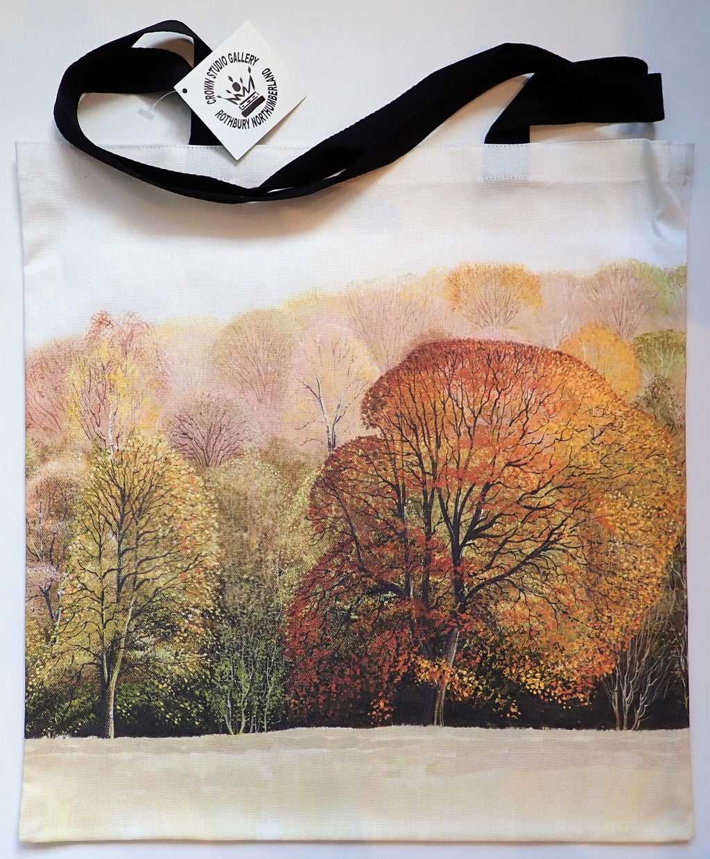 Tote Bag- Autumn Trees Design
