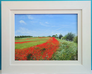 The Poppy Field - Original Painting