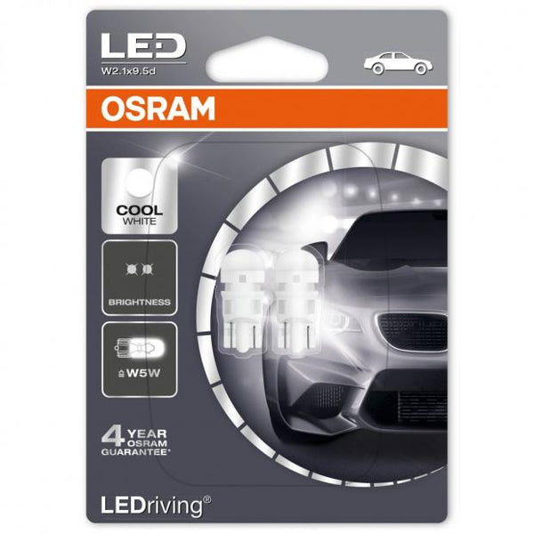 W5W (501) LEDriving Standard LED 6000K Cool White (Twin)