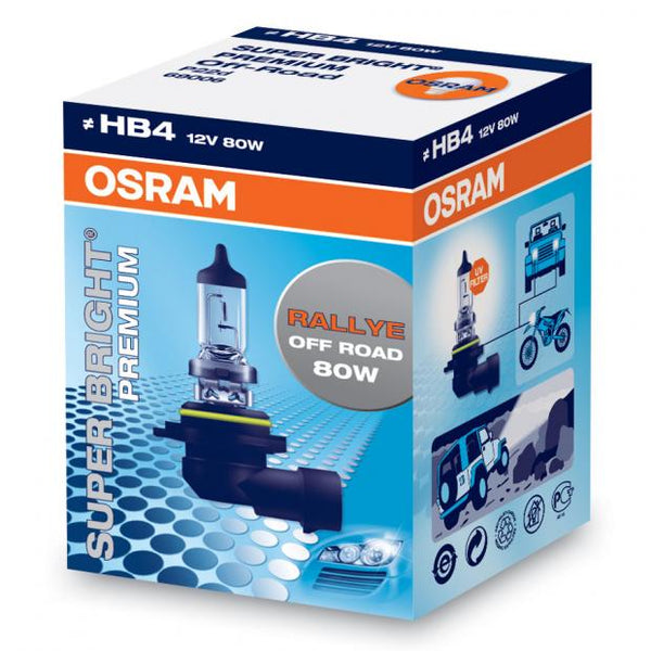 Super Bright Premium High Wattage Headlight Bulb HB4 (Single)