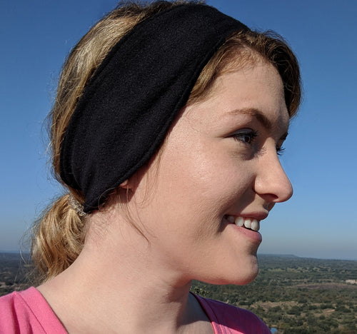 Microfleece Headband - Black