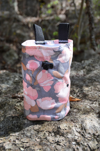 Pink Flower Chalk Bag