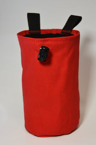 Red Canvas Chalk Bag