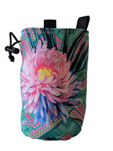 Load image into Gallery viewer, Flower Chalk Bag made from EcoCanvas