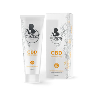 Dr. Kent SPORTS GEL WITH CBD550mg CBD | 100ml - Organic Hemp Buy Online