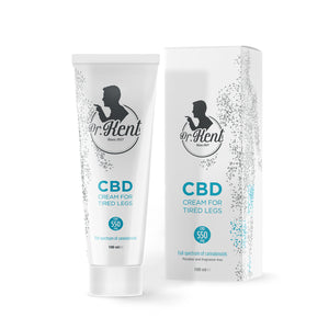 CBD for tired legs - Dr. Kent CREAM FOR TIRED LEGS WITH CBD 550mg CBD | 100ml - Organic Hemp Buy Online