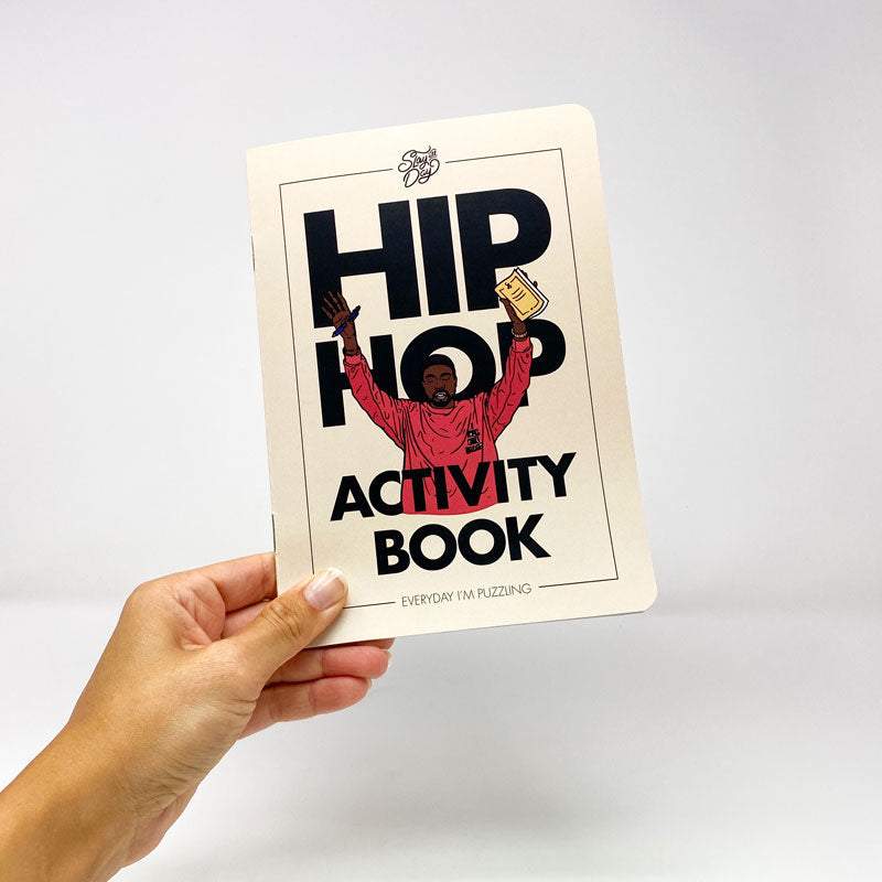 Hip-hop activity book