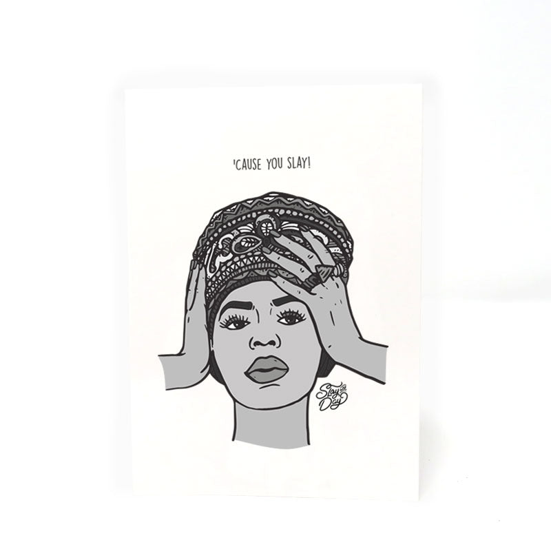 You slay - Beyoncé | Postcard