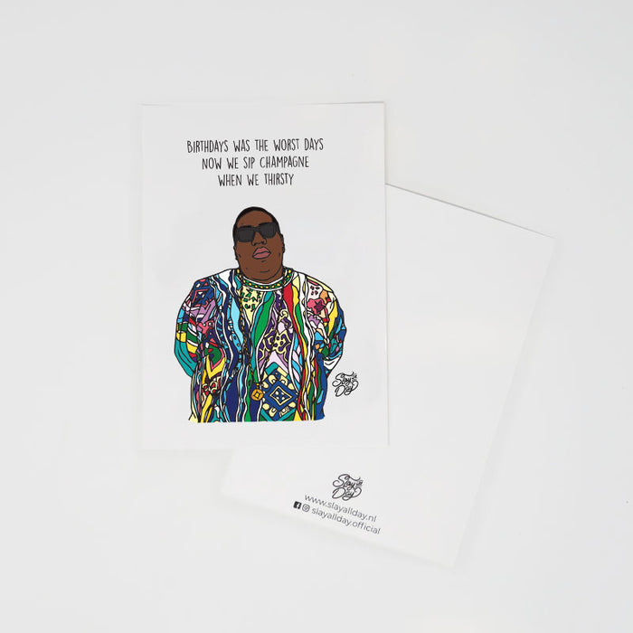 Notorious B.I.G. - postcard