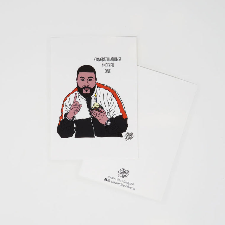 DJ Khaled - postcard
