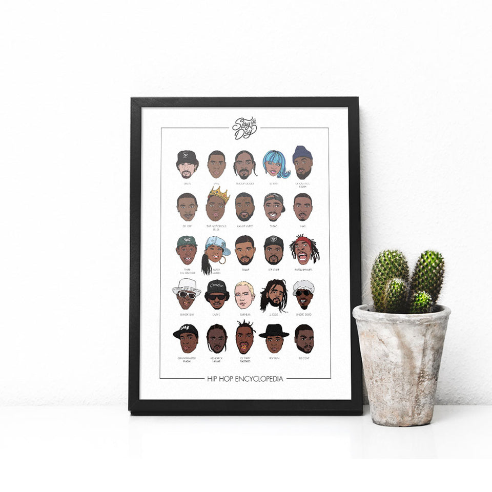 hip hop encyclopedia poster