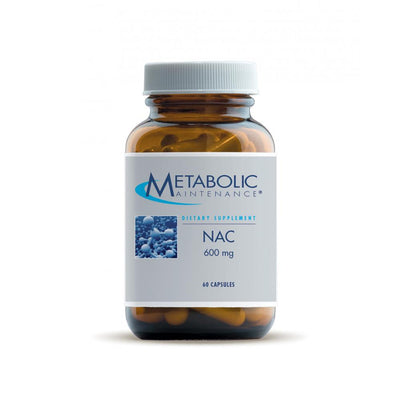 NAC 600 mg 60 caps by Metabolic Maintenance