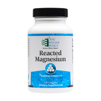 Reacted Magnesium Capsules by Ortho Molecular Products