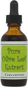 Pure Olive Leaf Extract Concentrate 2oz. by WORLD HEALTH MALL