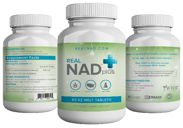 REAL NAD+ by Avior Nutritionals