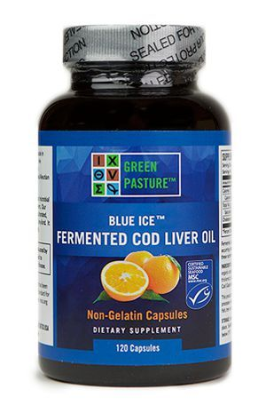 BLUE ICE™ FERMENTED COD LIVER OIL - Capsule by Green Pasture