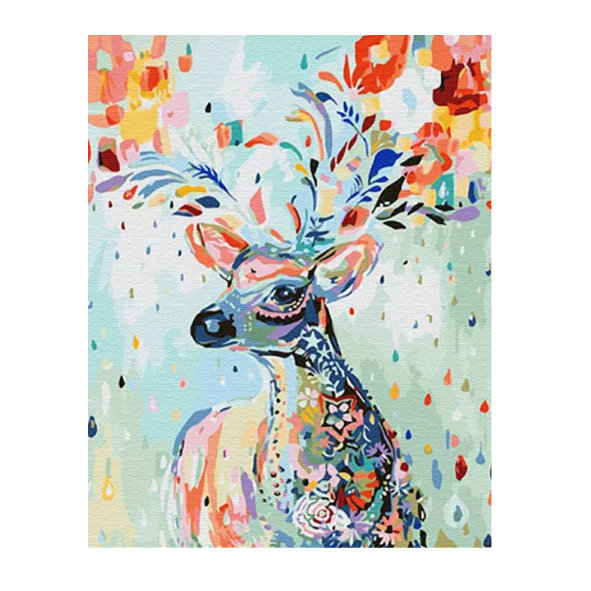 Deer Paint by Number art kit - 40x50CM (CODE 1010)