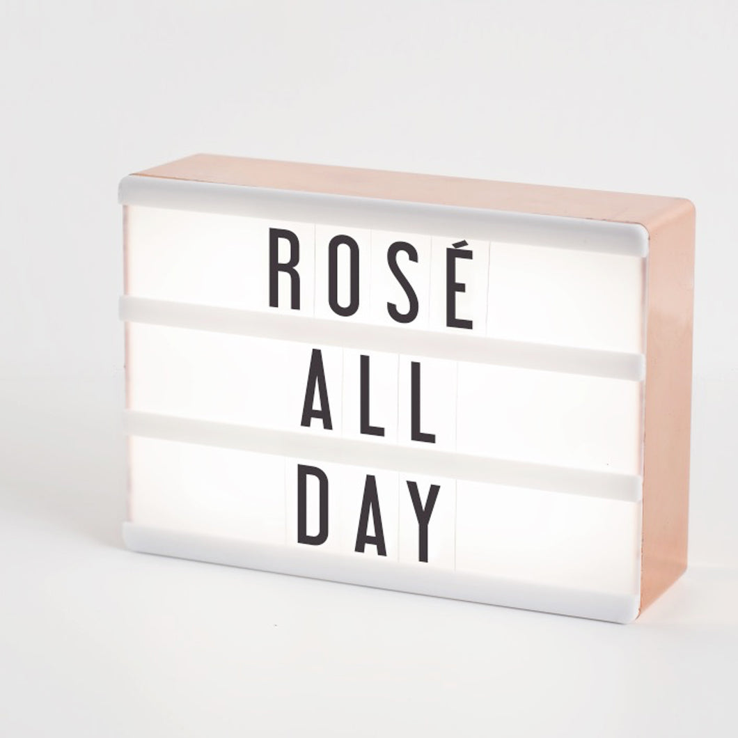 Amped & Co - Micro Rose Gold - My Cinema Lightbox®
