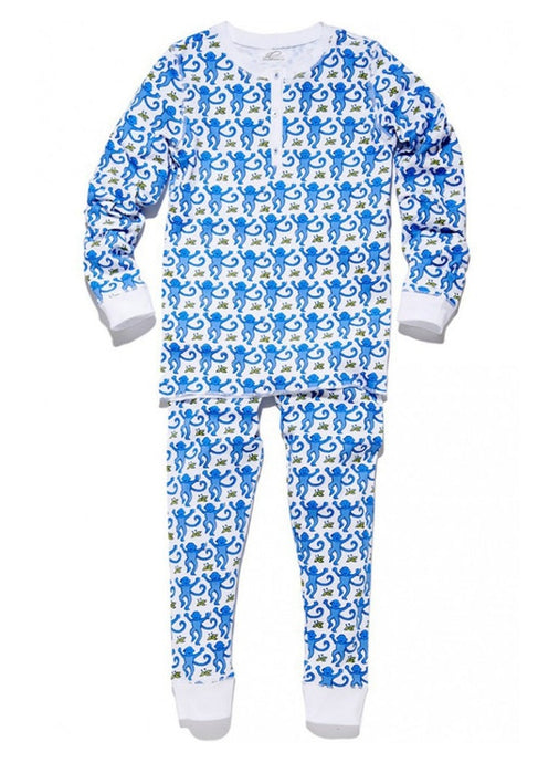 Roller Rabbit Kids Monkey Pajamas