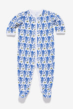 Load image into Gallery viewer, Roller Rabbit Kids, Infant Monkey Footie Pajamas