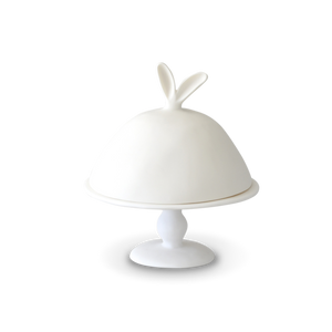 Large Bunny Ear Dome on Pedestal Stand