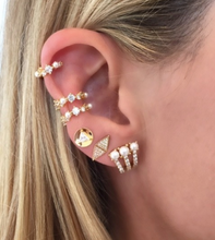 Load image into Gallery viewer, Inja Huggie Ear Cuffs